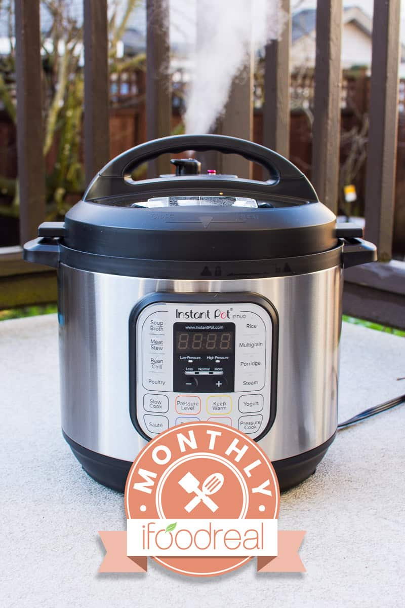 Instant Pot January - Win $100 Amazon Gift Card by cooking healthy and easy pressure cooker recipes. Click to read full rules.