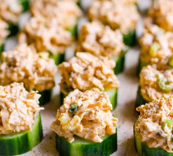 Cucumber Appetizer Bites