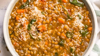 Instant Pot Lentil Soup (Video)