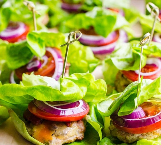 Healthy Turkey Sliders