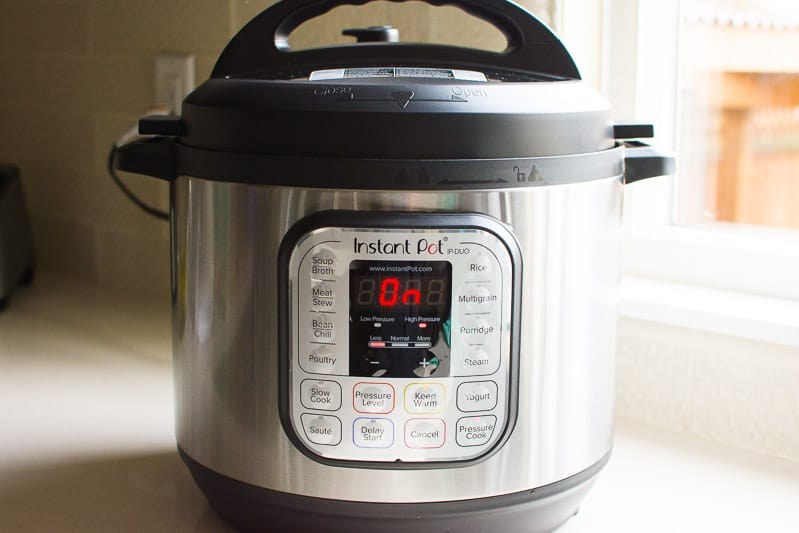8 Quart Instant Pot on a counter