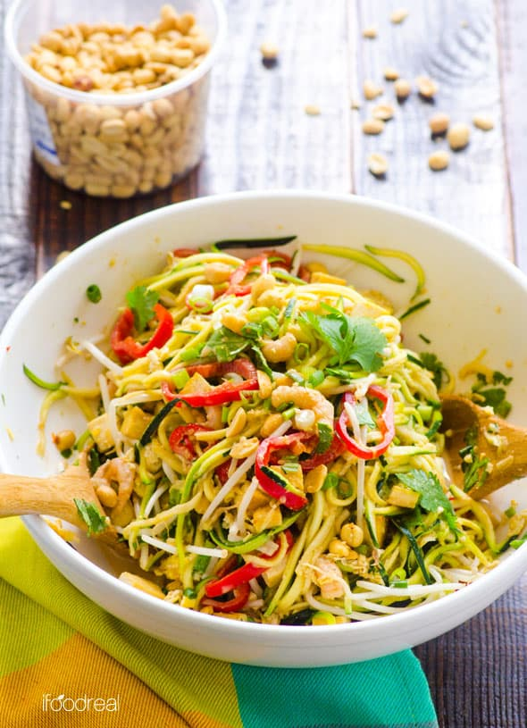 30 Healthy Zucchini Recipes including easy zucchini side dish recipes, baked and sautéed zucchini recipes, zucchini casseroles, zucchini pasta recipes, zucchini muffins and bread, zucchini fritters recipes and zucchini salad recipes. | ifoodreal.com