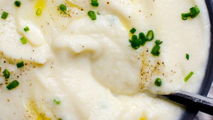 Cauliflower Mashed Potatoes (Video)