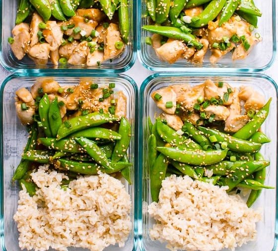 Teriyaki Chicken Meal Prep (Video)
