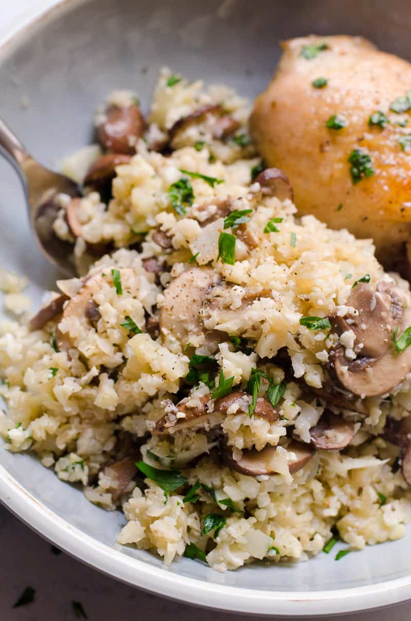 Cauliflower Risotto Ifoodreal Healthy Family Recipes