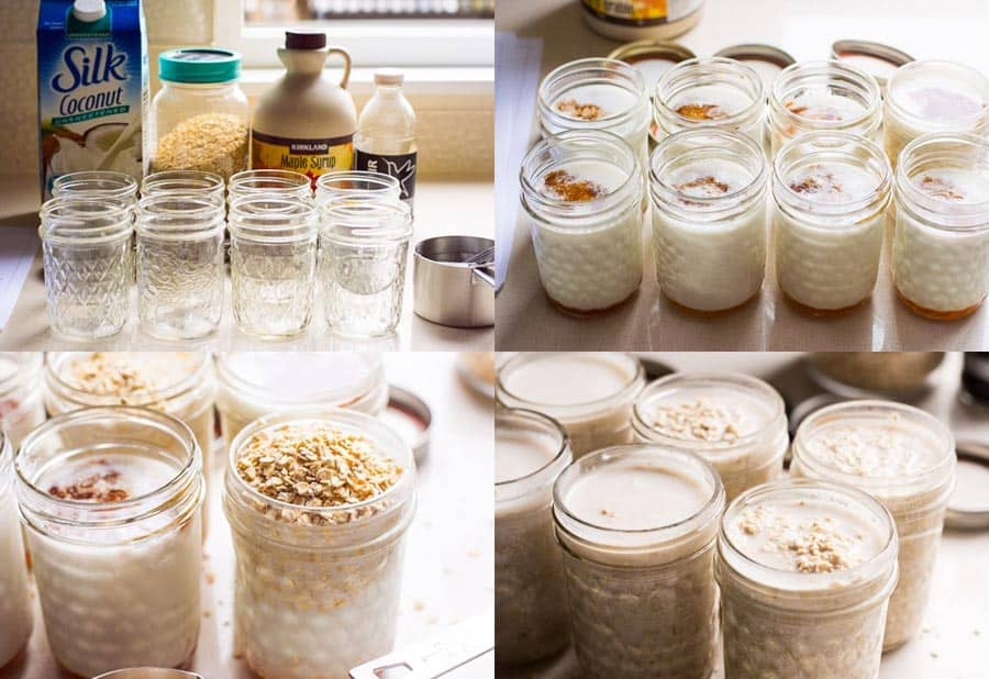 How to make Overnight Oats step by step