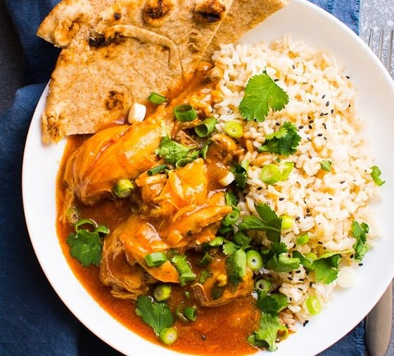 Instant Pot Butter Chicken (Video)