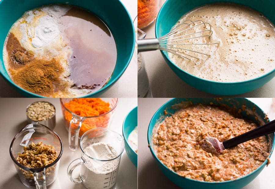 How to make Carrot Muffins step by step