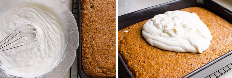 Healthy Carrot Cake Icing
