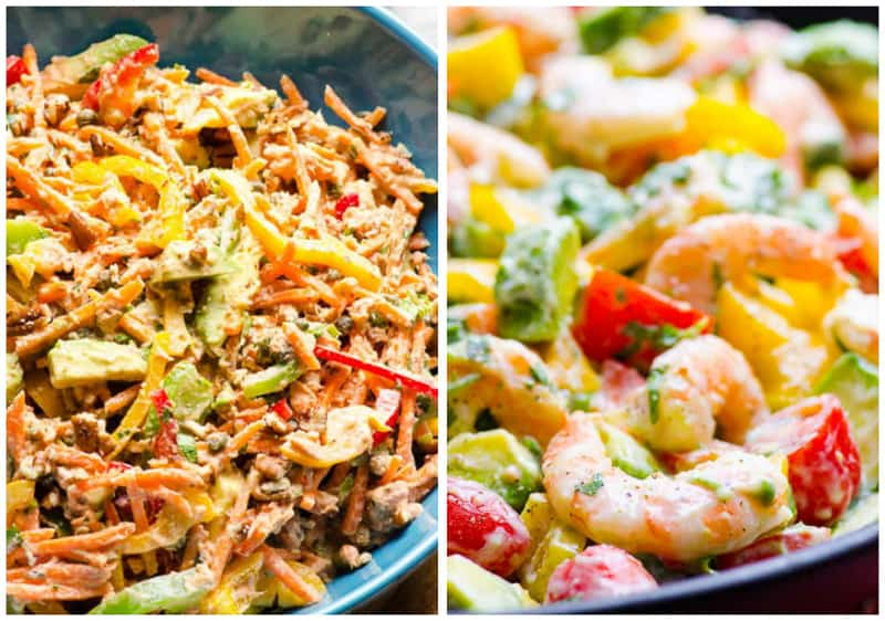 Healthy Seafood Salad Recipes