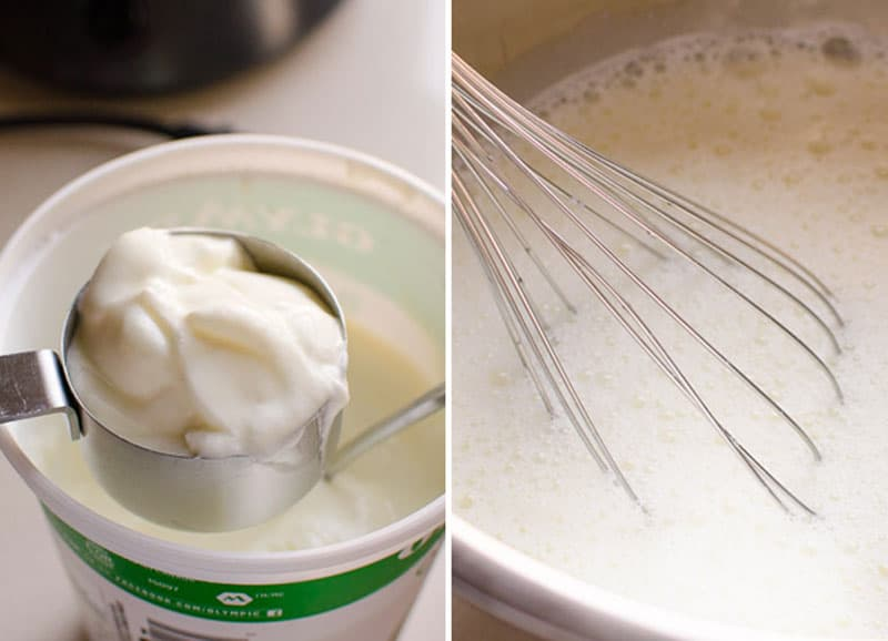 Instant Pot yogurt recipe with 2 ingredients including how to make Greek yogurt, vanilla yogurt, cream cheese, yogurt without yogurt button, what to do with whey and FAQs. We've got it all figured out for you.