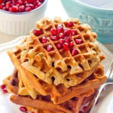 Crispy Almond Flour Waffles