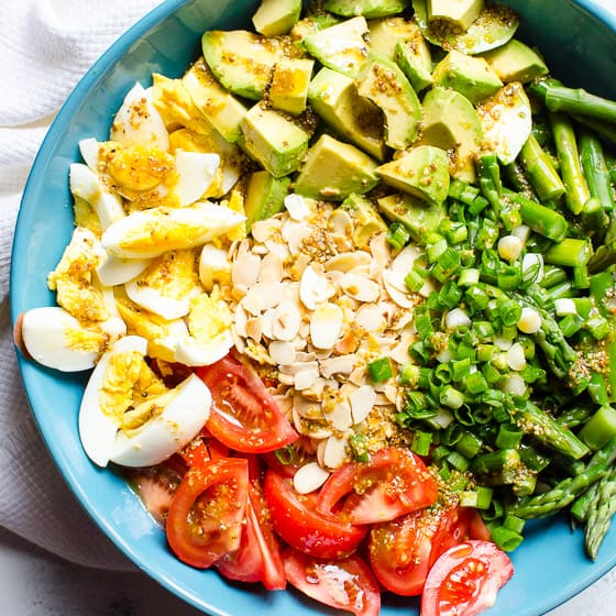 Asparagus Salad Ifoodreal Com
