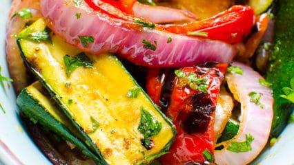 Balsamic Grilled Vegetables (Video)