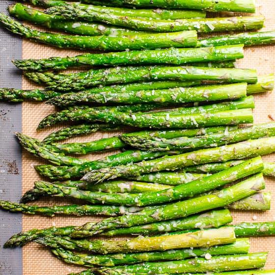 4 Ingredient Roasted Asparagus Ifoodreal Healthy Family Recipes