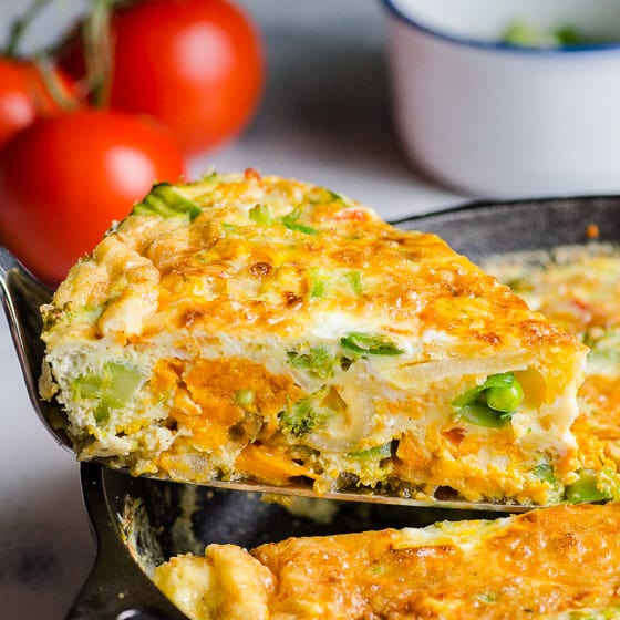 Vegetable Frittata Ifoodreal Healthy Family Recipes