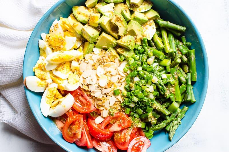 Asparagus Salad with Easy Dijon Vinaigrette