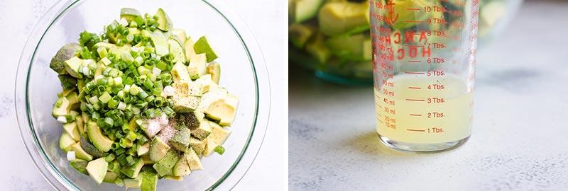 how to make avocado salad