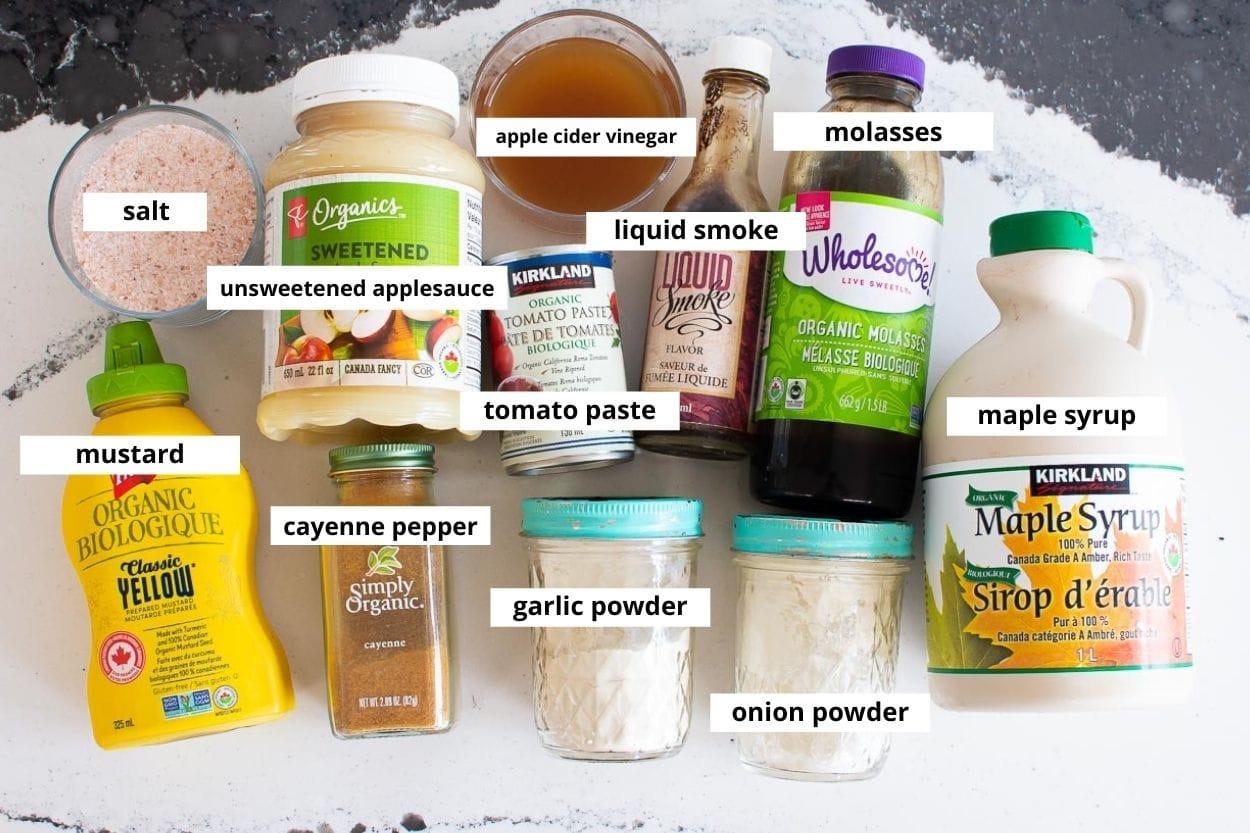 healthy bbq sauce ingredients