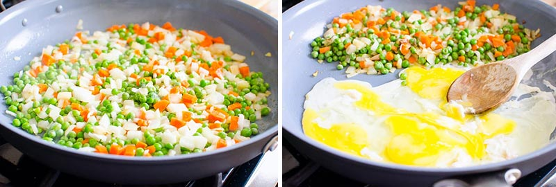 how to make cauliflower fried rice