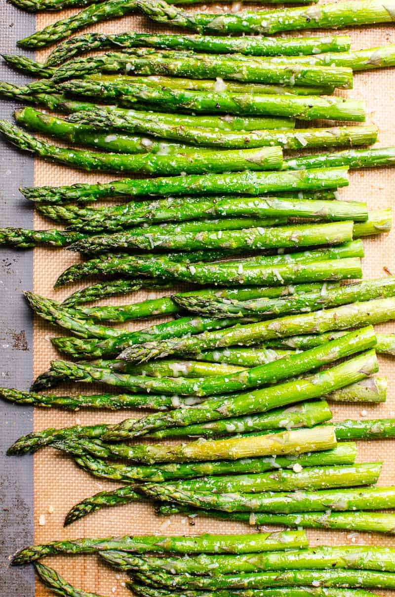 Roasted Asparagus Recipe 5 Flavor Variations Ifoodreal Com