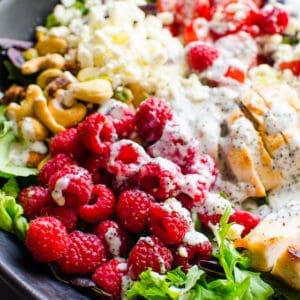 Grilled Chicken Salad (Video)