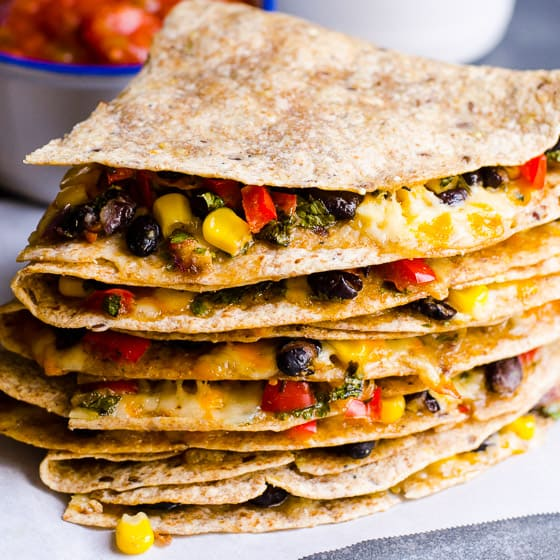 Vegetarian Quesadilla Kid Carnivore Approved Ifoodreal Com