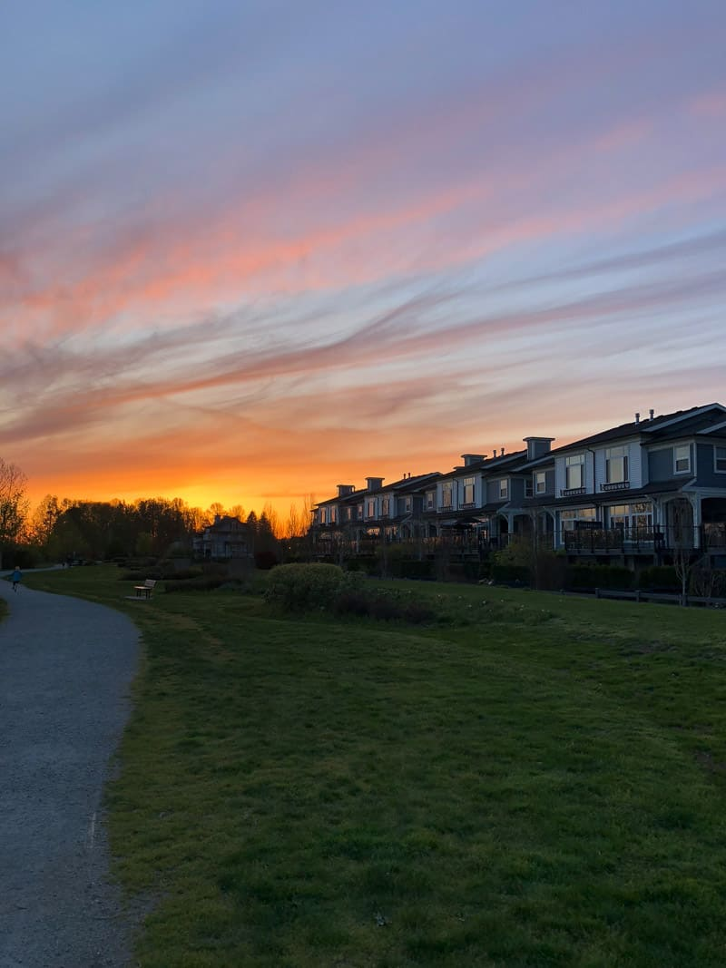 Vancouver Island, Sunsets and a Possible Move