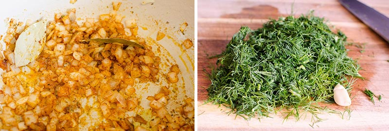 homemade vegetable soup ingredients