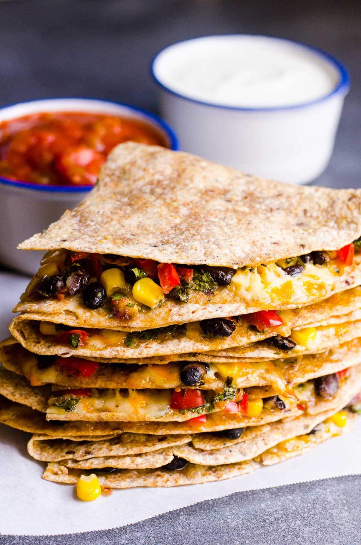 vegetarian quesadilla - ifoodreal