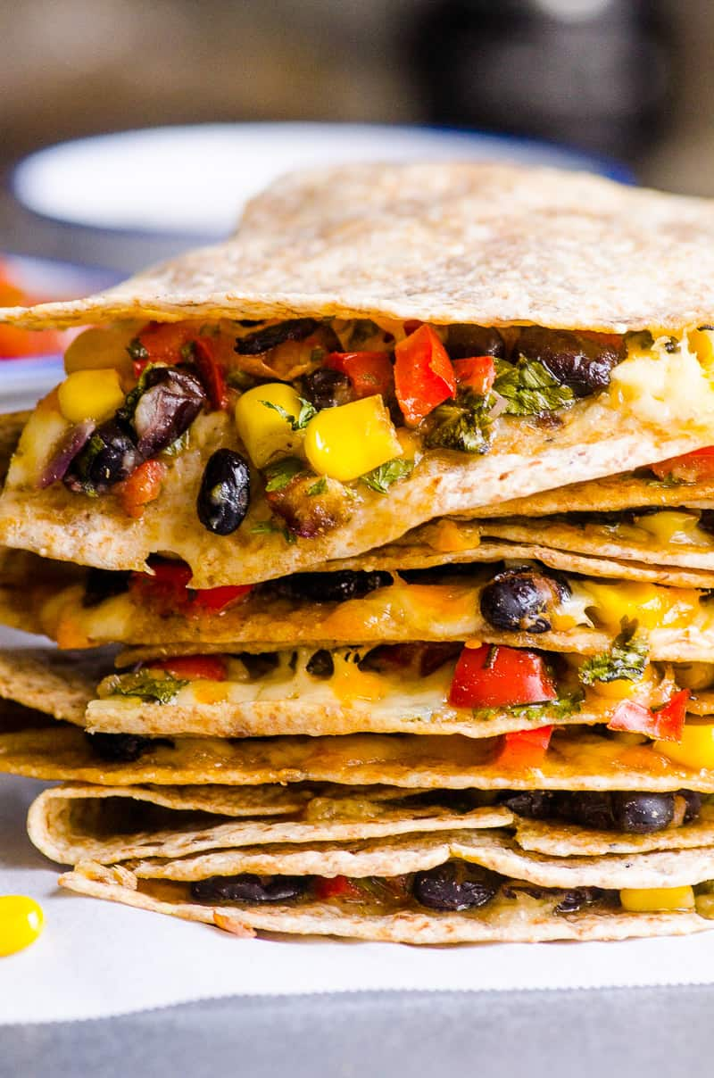 Vegetarian Quesadilla Ifoodreal Healthy Family Recipes
