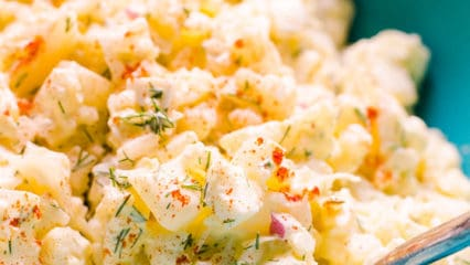 Cauliflower Potato Salad (Video)
