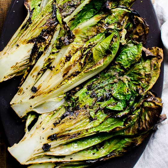 Grilled Romaine Lettuce Ifoodreal Healthy Family Recipes