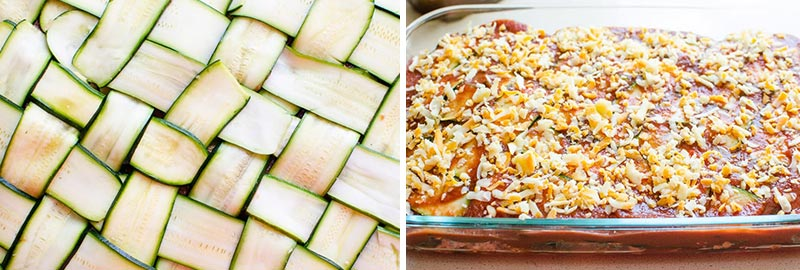 layers of chicken zucchini casserole