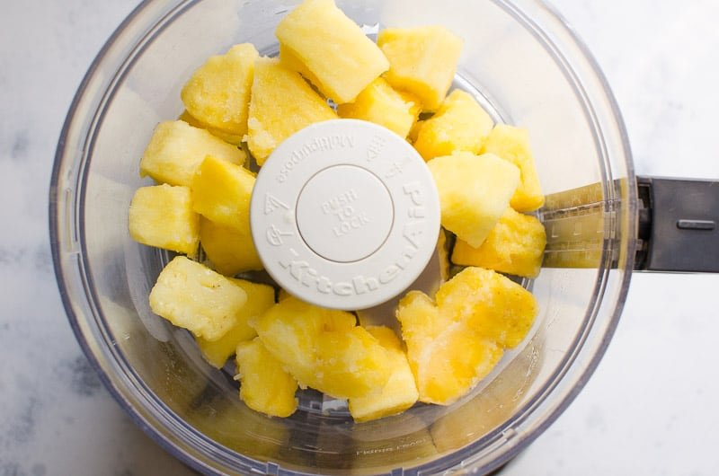 Make healthy Pineapple Dole Whip Recipe at home with one simple ingredient. And also Disney version ingredients list will blow your mind.