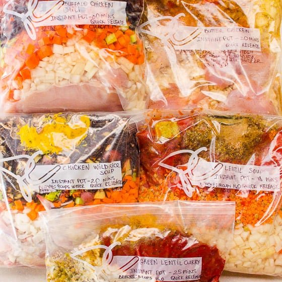 10 Healthy Freezer Meals Simple Ingredients Ifoodreal