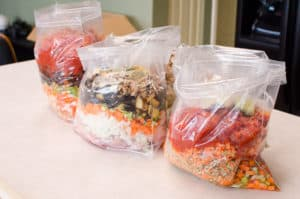 bags with Healthy Instant Pot Freezer Meals