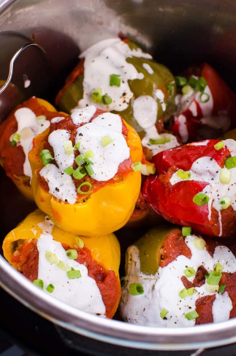 Instant Pot Stuffed Peppers Recipe