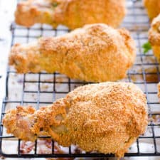 easy healthy oven fried chicken recipe