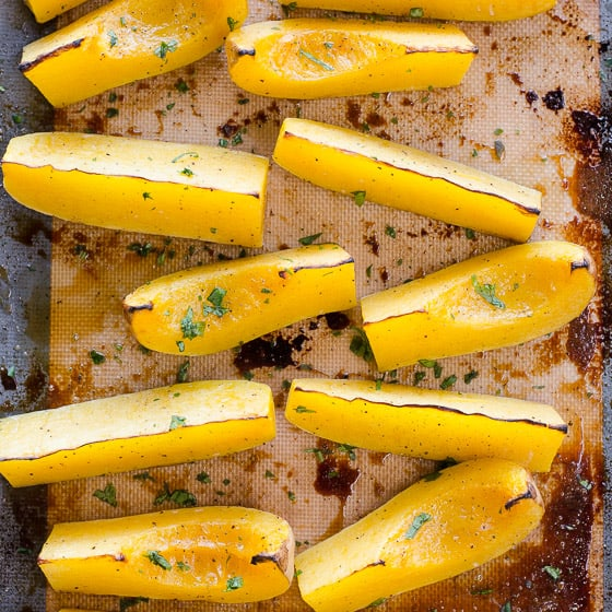 Oven Baked Butternut Squash Ifoodreal Healthy Family Recipes