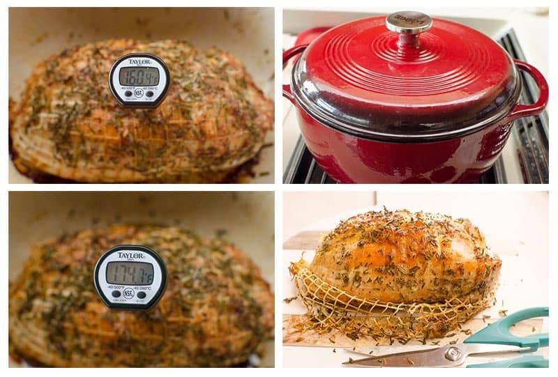 boneless turkey breast cooking time