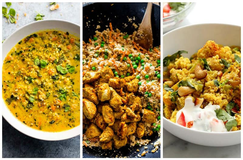 Indian Cauliflower Rice Recipes