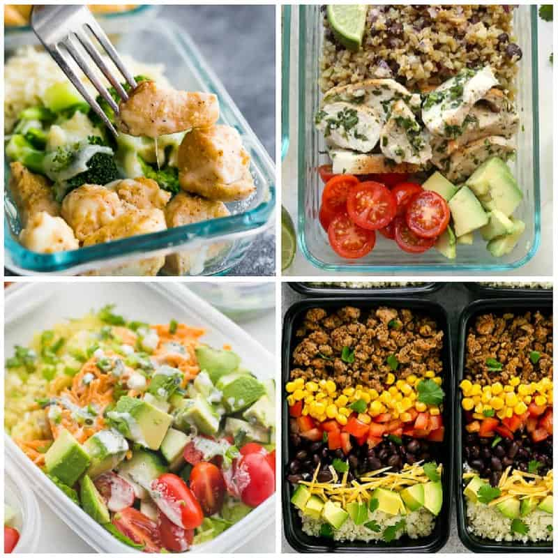 Meal Prep Cauliflower Rice Recipes