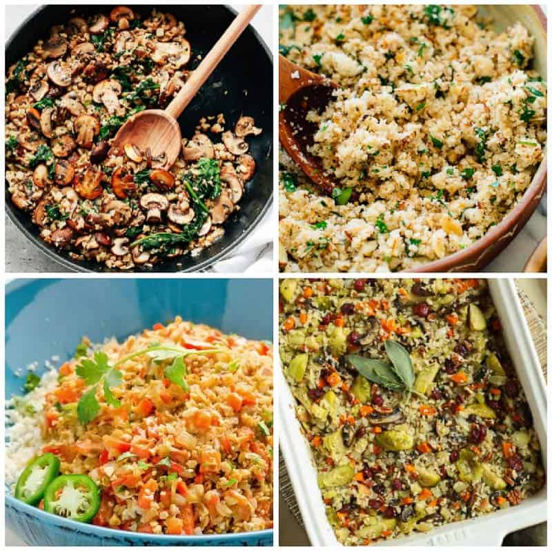 Vegan Cauliflower Rice Recipes
