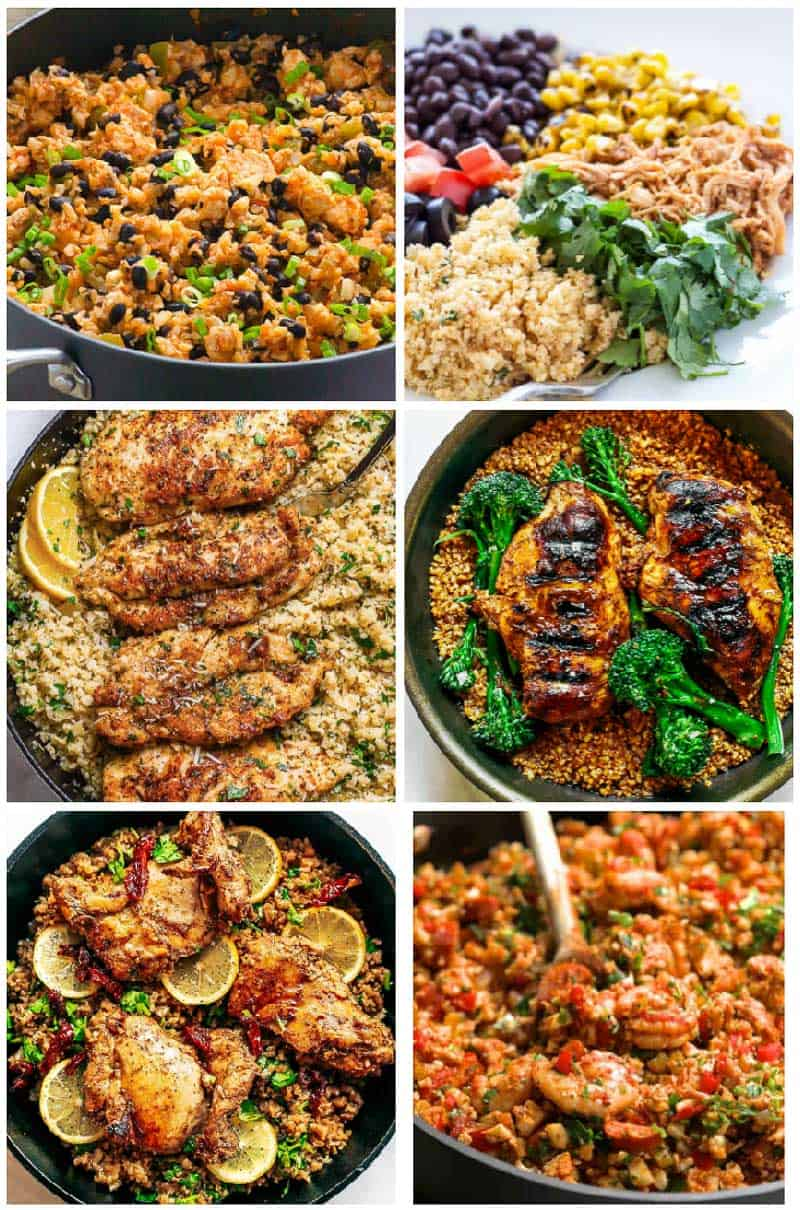 Cauliflower Rice Recipes with Chicken