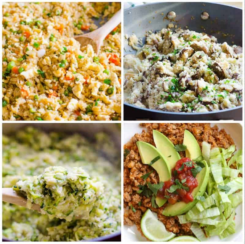 Other Cauliflower Rice Recipes