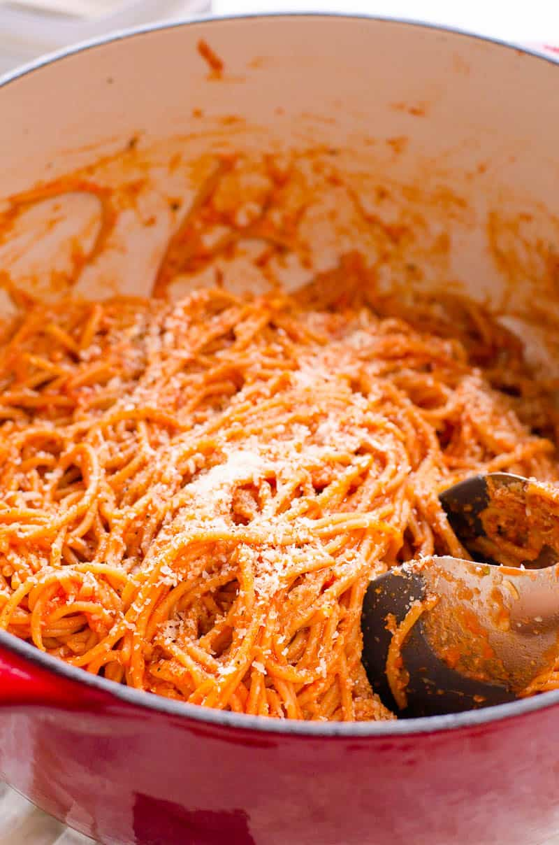10 Minute Spaghetti Recipe One Pot Ifoodreal Com