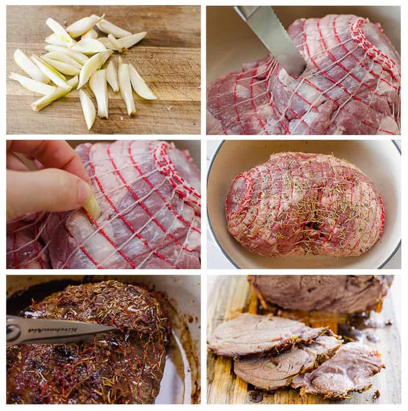 how to cook boneless leg of lamb step by step