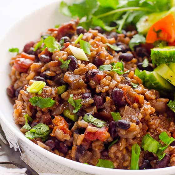 Instant Pot Rice And Beans Dried Amp No Soaking Ifoodreal Healthy Family Recipes
