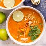instant pot thai chicken soup